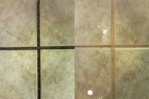 Injoi cleans tile and grout in atlanta